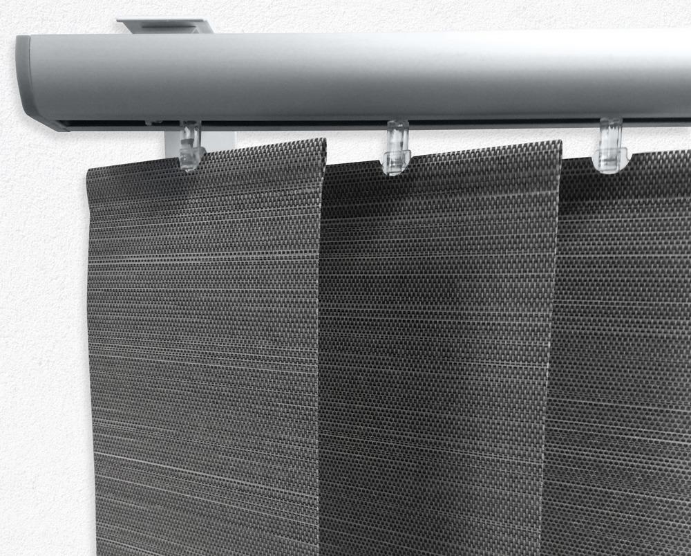 verticale textiel lamellen op maat gemaakt bsl raambekleding. Black Bedroom Furniture Sets. Home Design Ideas