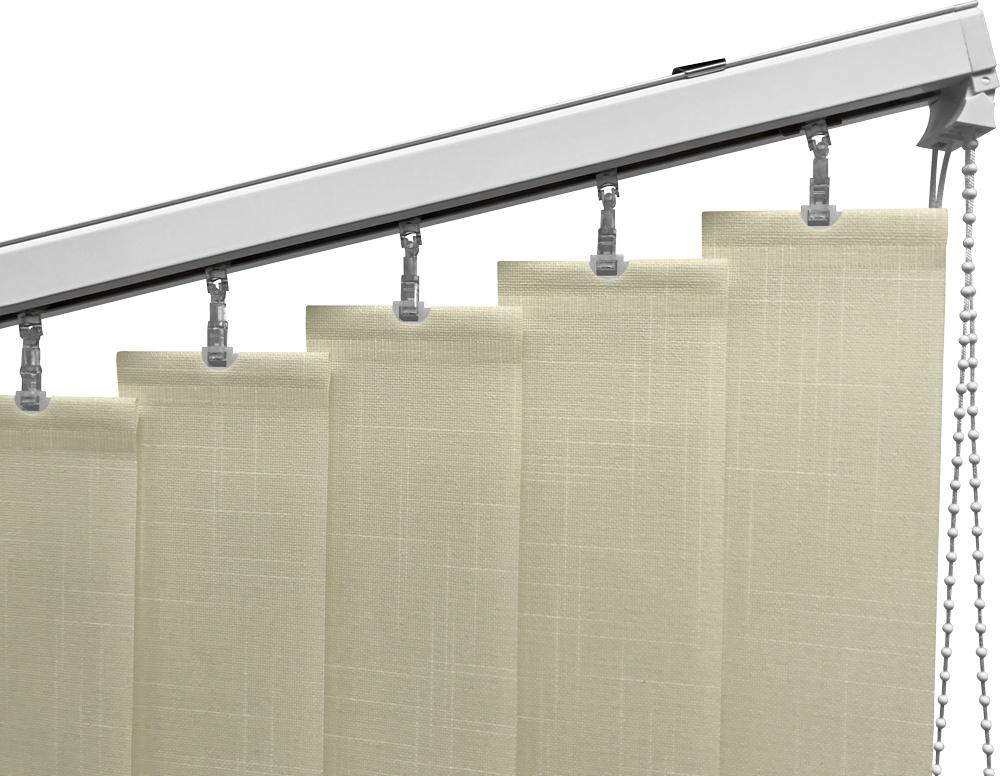trapezium lamellen voor schuine ramen